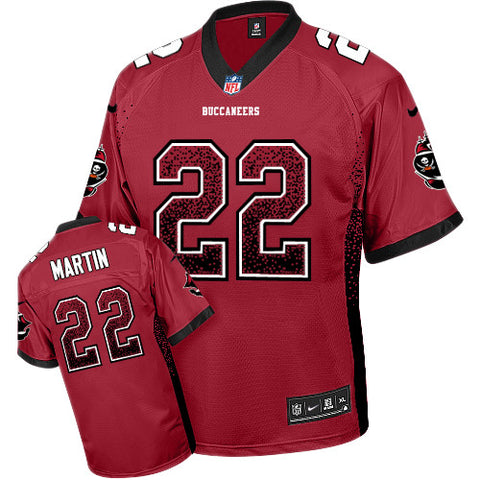 Doug Martin Tampa Bay Buccaneers #22 Nike Elite Drift Fashion stitched jersey - Sports Nut Emporium