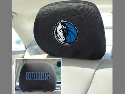 Dallas Mavericks head rest cover - Sports Nut Emporium