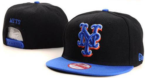 New York Mets snap back hat (004) - Sports Nut Emporium