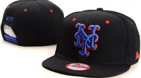 New York Mets snap back hat (005) - Sports Nut Emporium