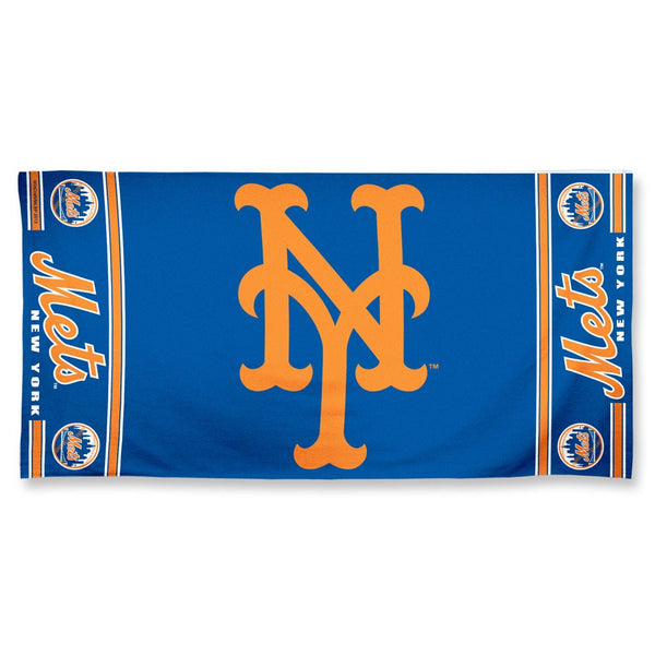 "New York Mets Fiber Beach Towel  30"" x 60"" - Sports Nut Emporium"
