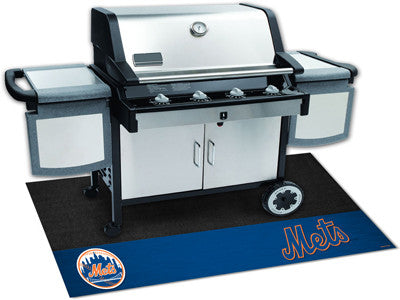 New York Mets Barbeque Grill Mat - Sports Nut Emporium