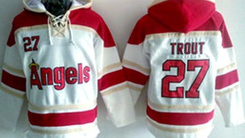 Mike Trout Los Angeles Angels Pullover Hoodie - Sports Nut Emporium
