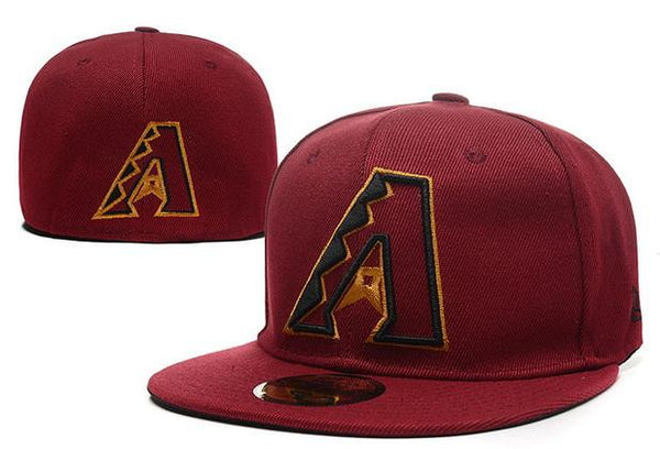 Arizona Diamondbacks New Era 59Fifty Classic Pop Red Fitted Hat - Sports Nut Emporium