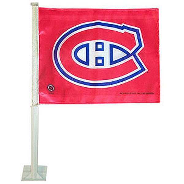 Montreal Canadians NHL Car Flag - Sports Nut Emporium