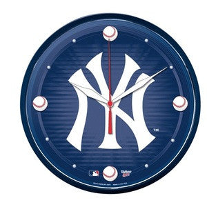 New York Yankees Wall Clock - Sports Nut Emporium