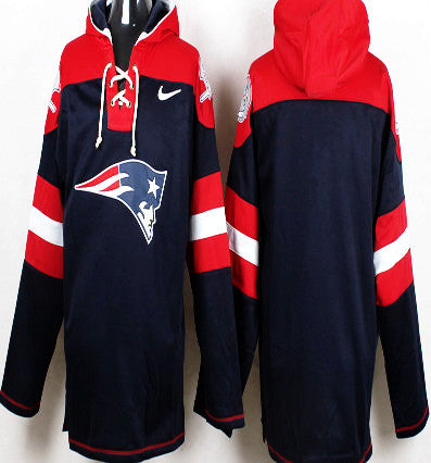 detailed look 5f8da 46f7f New England Patriots Pullover hoodie