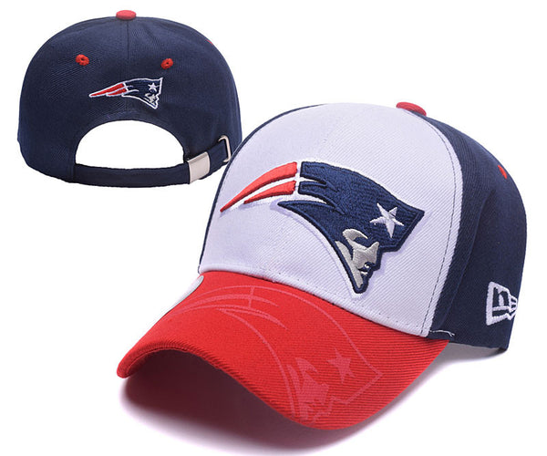 New England Patriots Curved Bill Snapback hat - Sports Nut Emporium