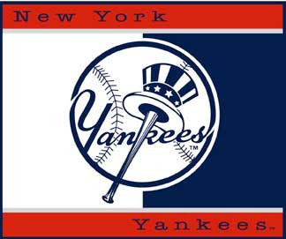 new York Yankees Blanket / Throw .