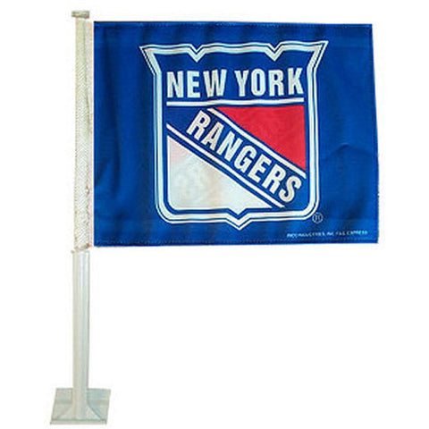 New York Rangers NHL Car Flag - Sports Nut Emporium