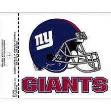 New York Giants static cling - Sports Nut Emporium