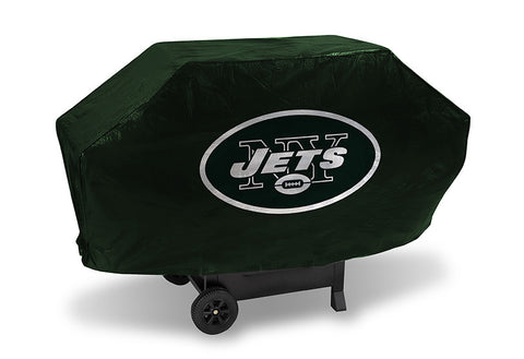 New York Jets Deluxe Barbaque Grill Cover - Sports Nut Emporium