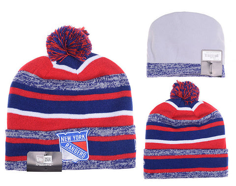 New York Rangers  Stitched Knit  winter Beanie - Sports Nut Emporium