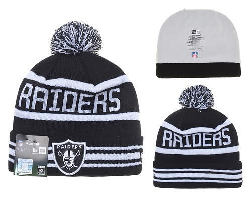Oakland Raiders Winter Knit beanie  (037) - Sports Nut Emporium