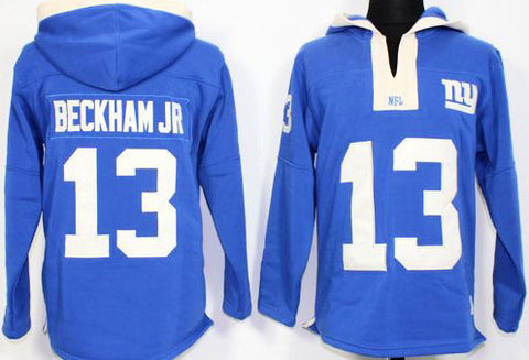 Odell Beckham Jr Royal Blue Player Winning Method Pullover NFL Hoodie - Sports Nut Emporium