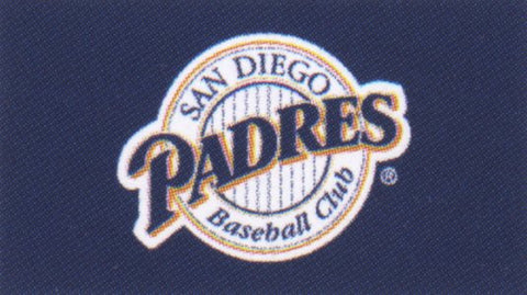 San Diego Padres vertical flag - Sports Nut Emporium