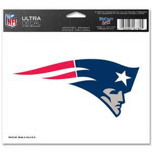 New England Patriots logo ultra decal - Sports Nut Emporium