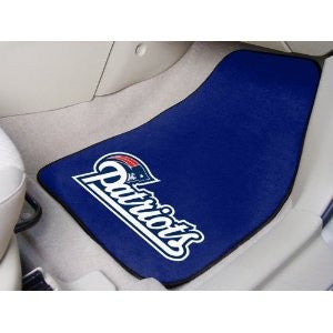 New England Patriots  carpet car mat - Sports Nut Emporium