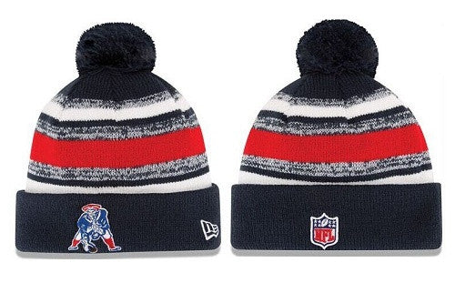 New  England patriots sideline knit beanie 002 - Sports Nut Emporium