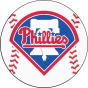 Philadelphia Phillies baseball floor mat - Sports Nut Emporium