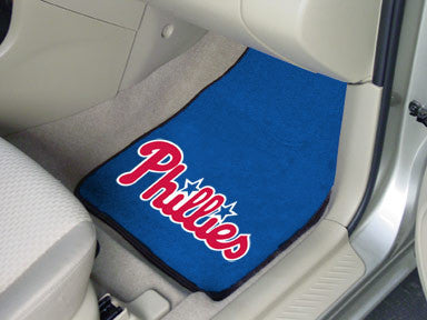 Philadelphia Phillies carpet car mat - Sports Nut Emporium