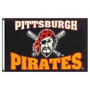 Pittsburgh Pirates 3x5 team banner flag - Sports Nut Emporium
