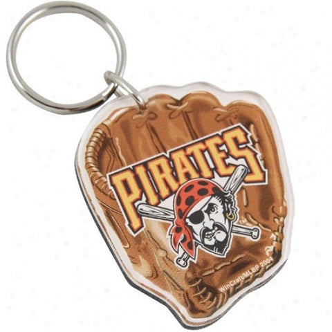 Pittsburgh Pirates premium acrylic key ring - Sports Nut Emporium