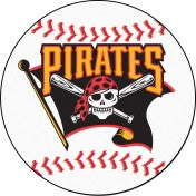 Pittsburgh Pirates baseball floor mat - Sports Nut Emporium