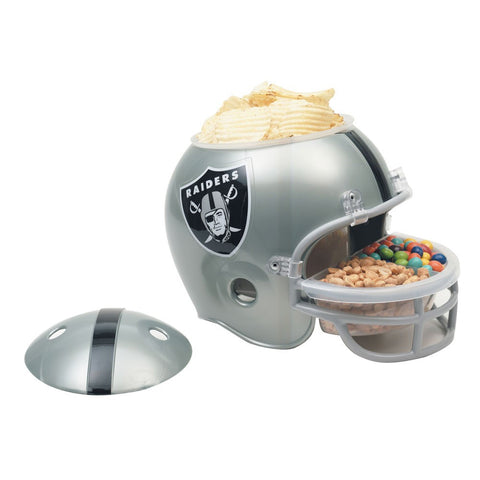 Oakland Raiders Snack Helmet - Sports Nut Emporium