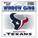 Houston Texans static cling - Sports Nut Emporium
