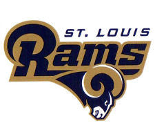 St Louis Rams static cling - Sports Nut Emporium