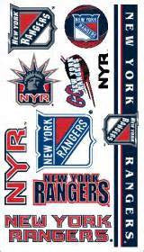 New York Rangers temporary tattoos - Sports Nut Emporium