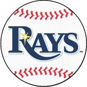 Tampa Bay Rays baseball floor mat - Sports Nut Emporium