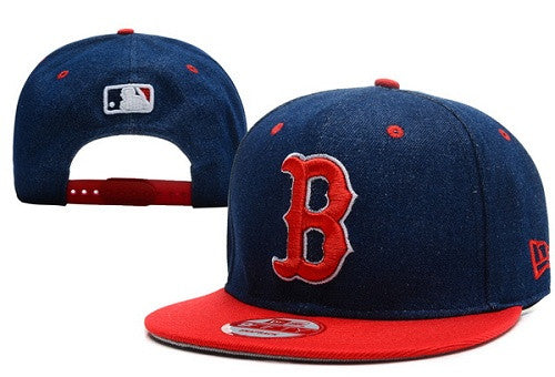 Boston Red Sox snap back hat  (036) - Sports Nut Emporium