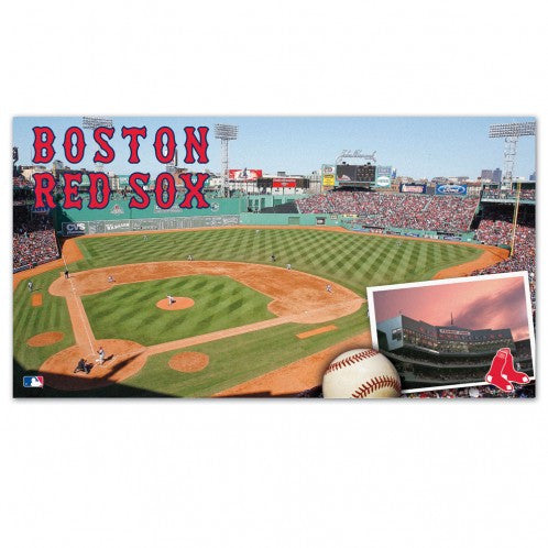 Boston Red Sox 28x52 welcome mat - Sports Nut Emporium