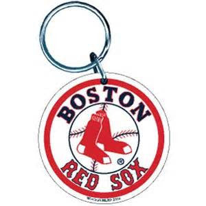 Boston Red Sox Premium High Definition  Acrylic Key Ring - Sports Nut Emporium
