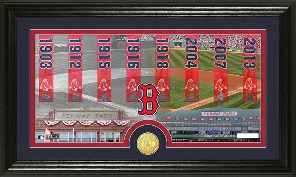 "Boston Red Sox ""Traditions"" Bronze Coin Photo Mint - Sports Nut Emporium"
