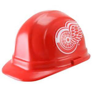 Detroit Red wings hard hat - Sports Nut Emporium