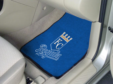 Kansas City Royals carpet car mat - Sports Nut Emporium