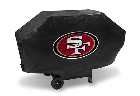 San FranSisco 49ers Deluxe Barbaque Grill Cover - Sports Nut Emporium