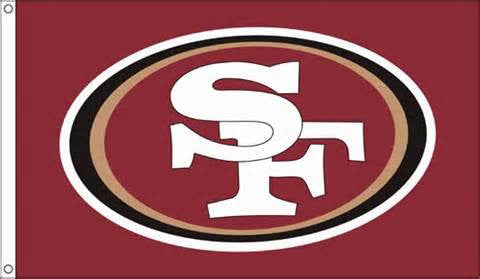 San Fransisco 49ers 3x5 team banner flag - Sports Nut Emporium