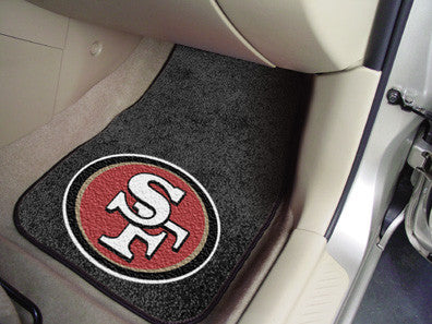 San Fransisco 49ers carpet car mat - Sports Nut Emporium