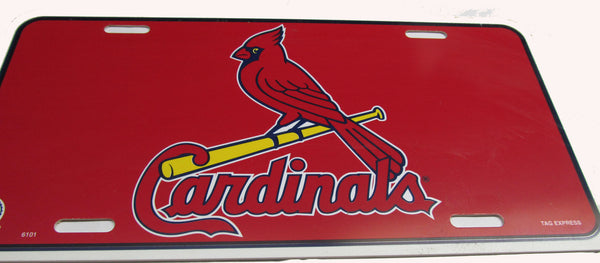 St Louis Cardinals license plate - Sports Nut Emporium