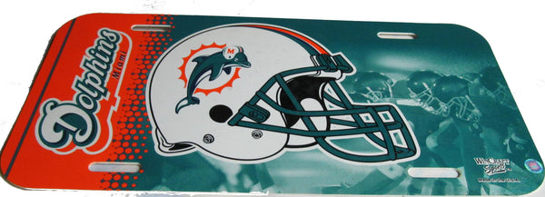 Miami Dolphins license plate - Sports Nut Emporium