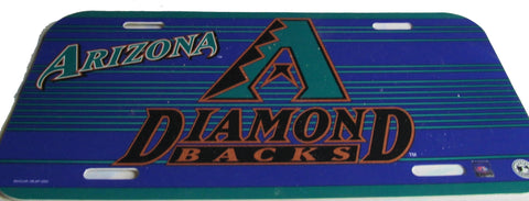 Arizona Diamondbacks license plate - Sports Nut Emporium