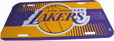 Los Angeles Lakers license plate - Sports Nut Emporium