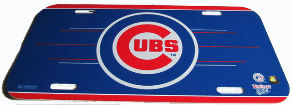 Chicago Cubs license plate - Sports Nut Emporium