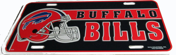 Buffalo Bills license plate - Sports Nut Emporium