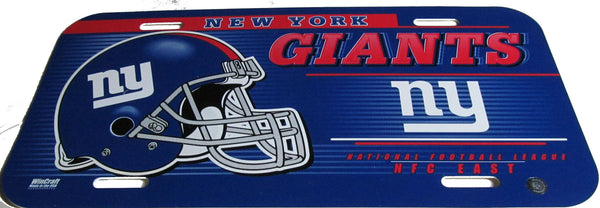 New York Giants license plate - Sports Nut Emporium