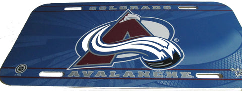 Colorado Avalanche license plate - Sports Nut Emporium